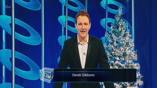 Derek Gibbons on ITV 1