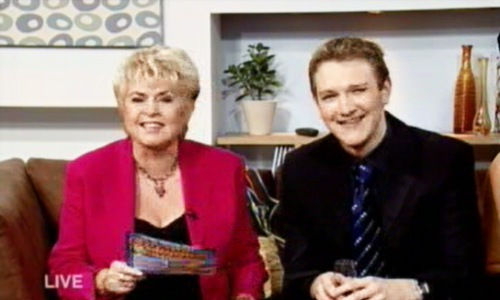 Gloria Hunniford and Derek Gibbons