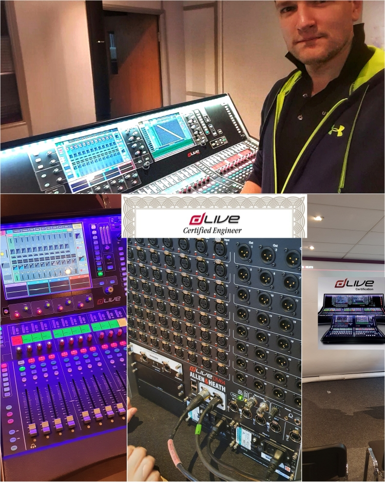 Del Gibbons DLive Certified Engineer